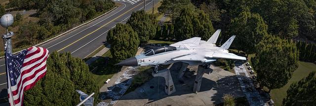 Grumman Memorial Park Panorama F-14A Tomcat