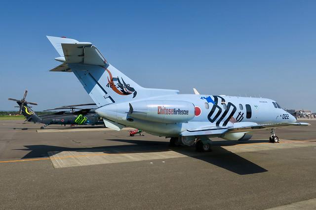 Hawker Beechcraft U-125A   42-3022   JASDF   2019/08/04 @ RJCJ