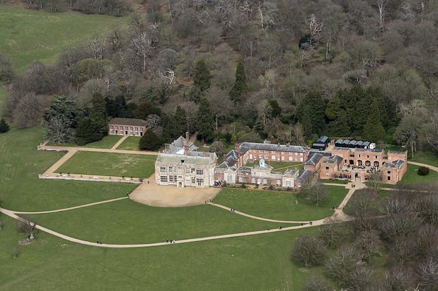 Felbrigg Hall aerial image