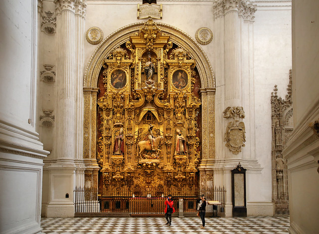 The Altarpiece of Santiago Matamoris Anno 1707
