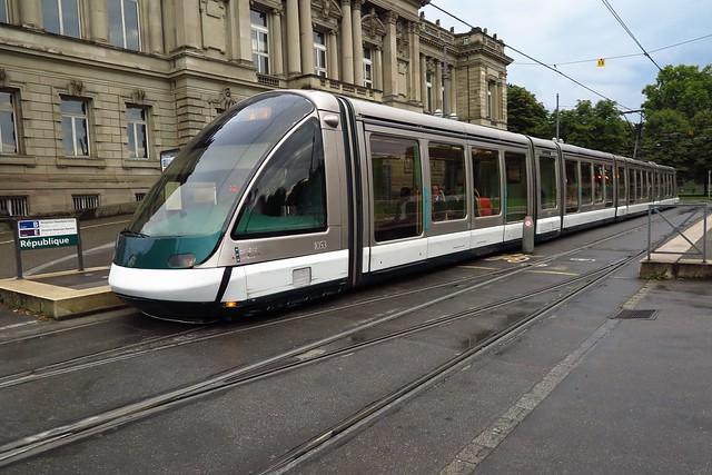 the Tram in Strasbourg