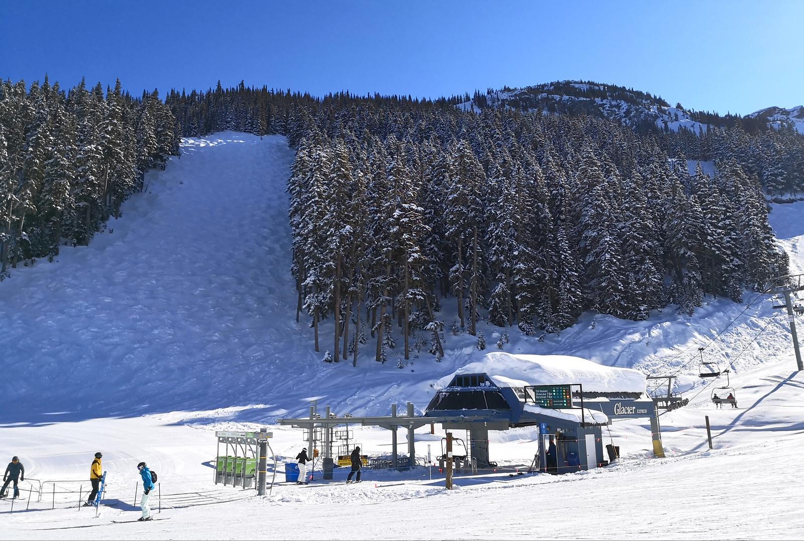 Glacier Express chair