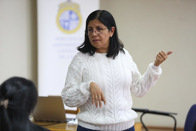 Clase de la profesora Blanca Ruiz, del tecnológico de Monterrey Mexico.