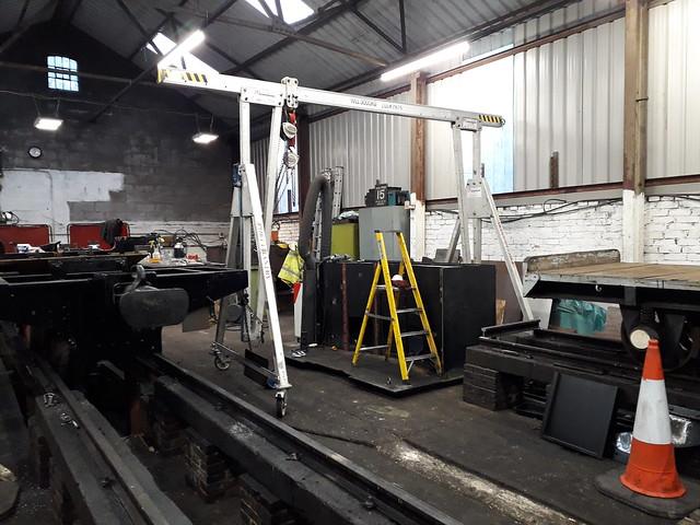 Coal Bunker for 699.01 (Sir Drefaldwyn)