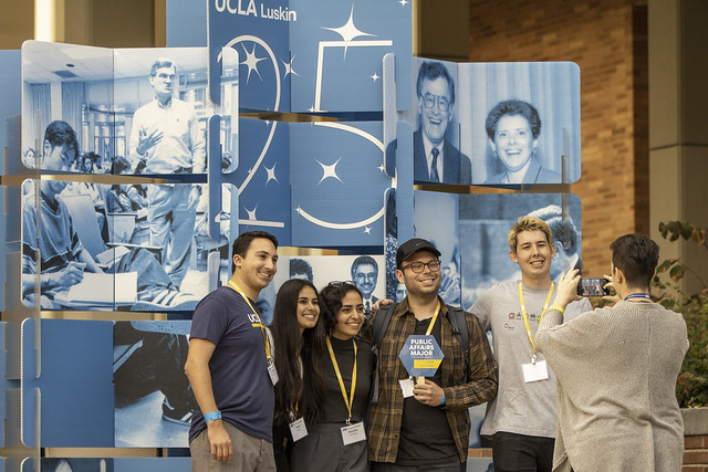 UCLA Luskin's Undergrad Trailblazers