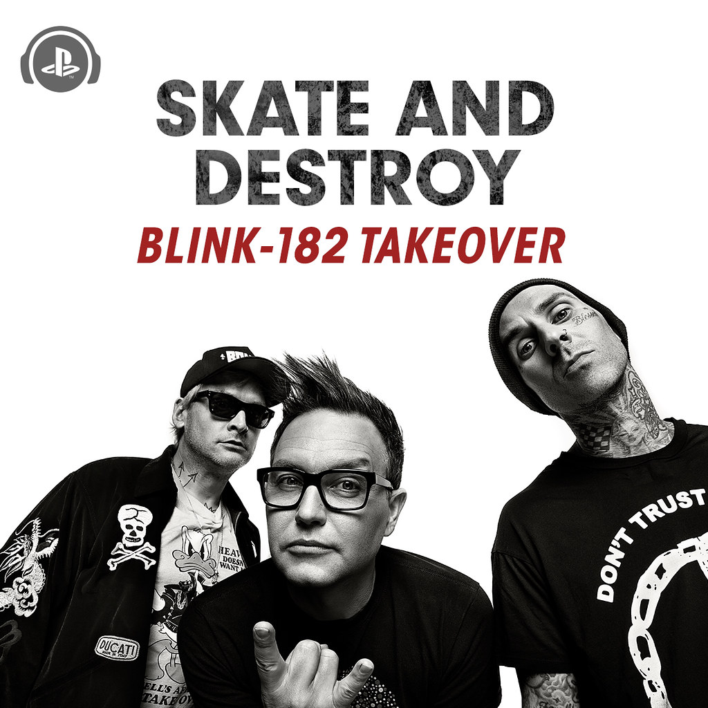 Blink-182 - Skate & Destroy Takeover