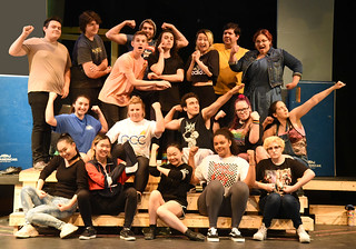 Wed, 09/25/2019 - 18:23 - The Rocky Horror Show cast, courtesy of GCC