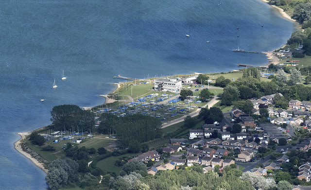 Grafham Water Sailing Club - Cambridgeshire aerial image