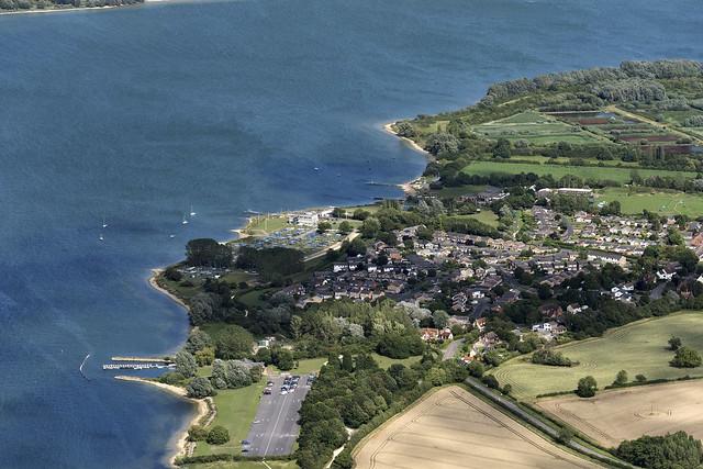Grafham Water - Cambridgeshire aerial image