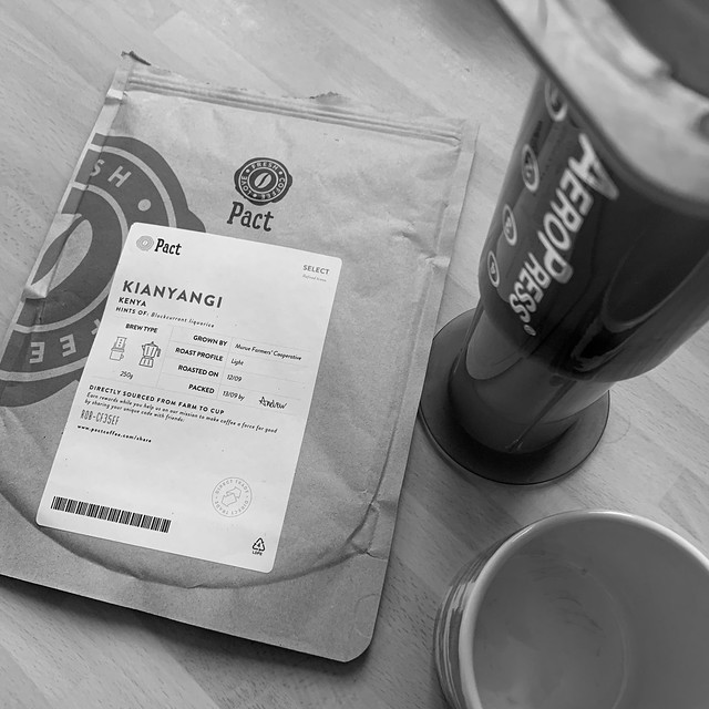 New coffee from Pact!