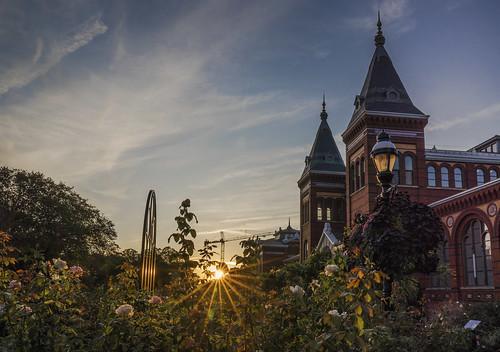 Smithsonian Castle at Sunrise