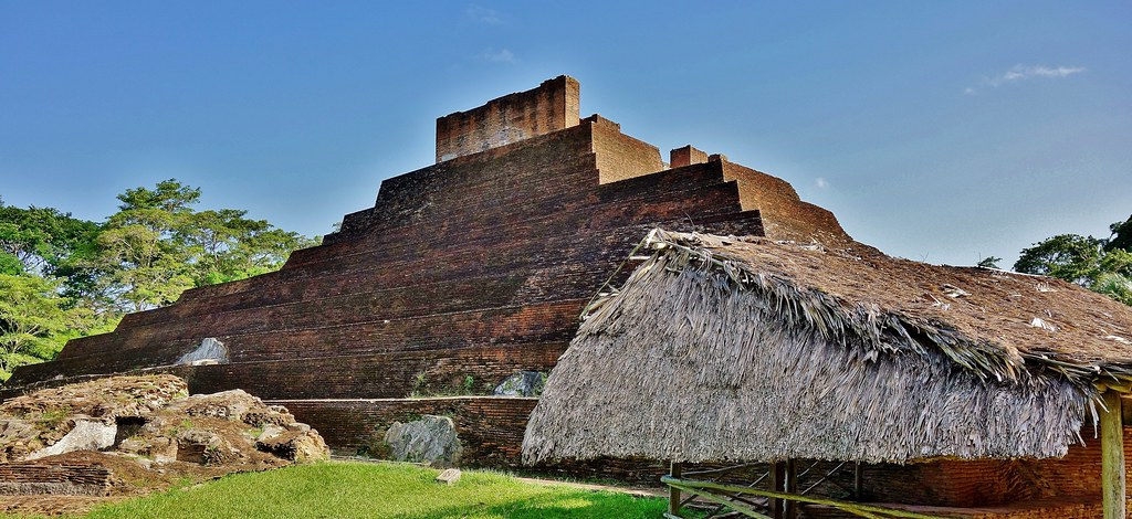 MEXICO , Comalcalco, Maya-Stätte, 19299/11980