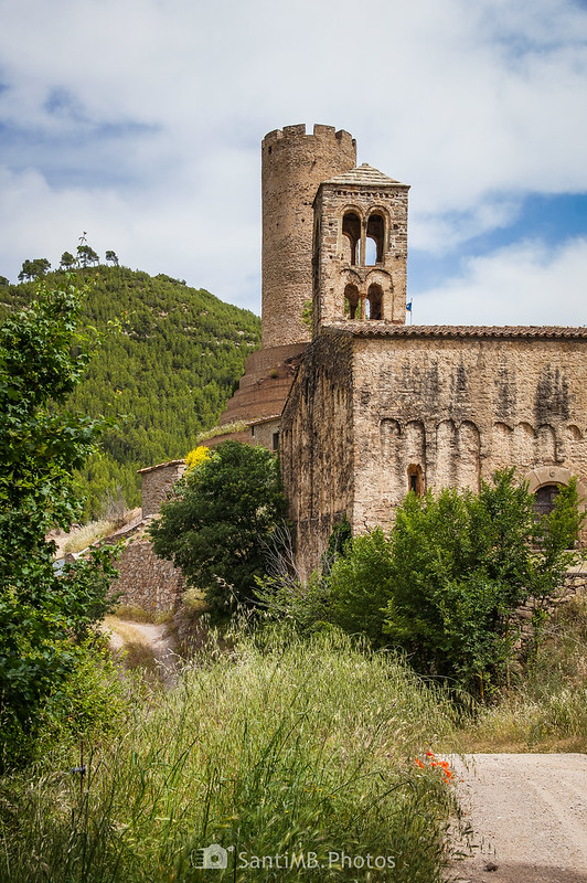 Coaner desde el camino a la Obaga de Cal Serra