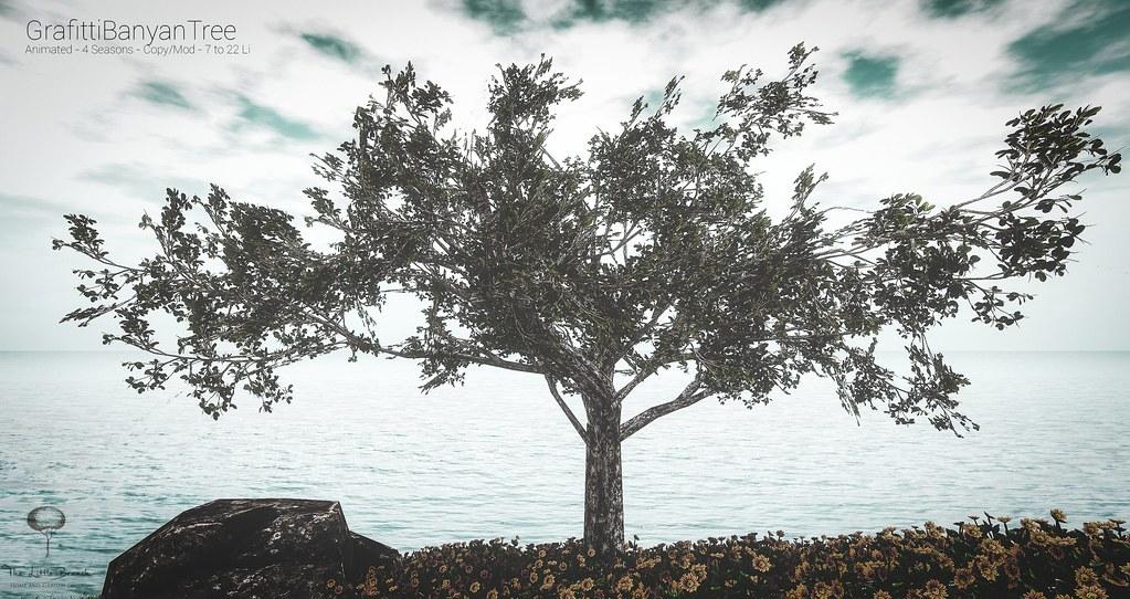 Little Branch Grafitti Banyan Tree