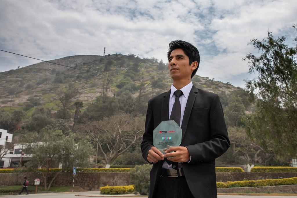 Zoser Ramos, talento de Beca 18 y ganador del Premio Nacional de la Juventud 2019