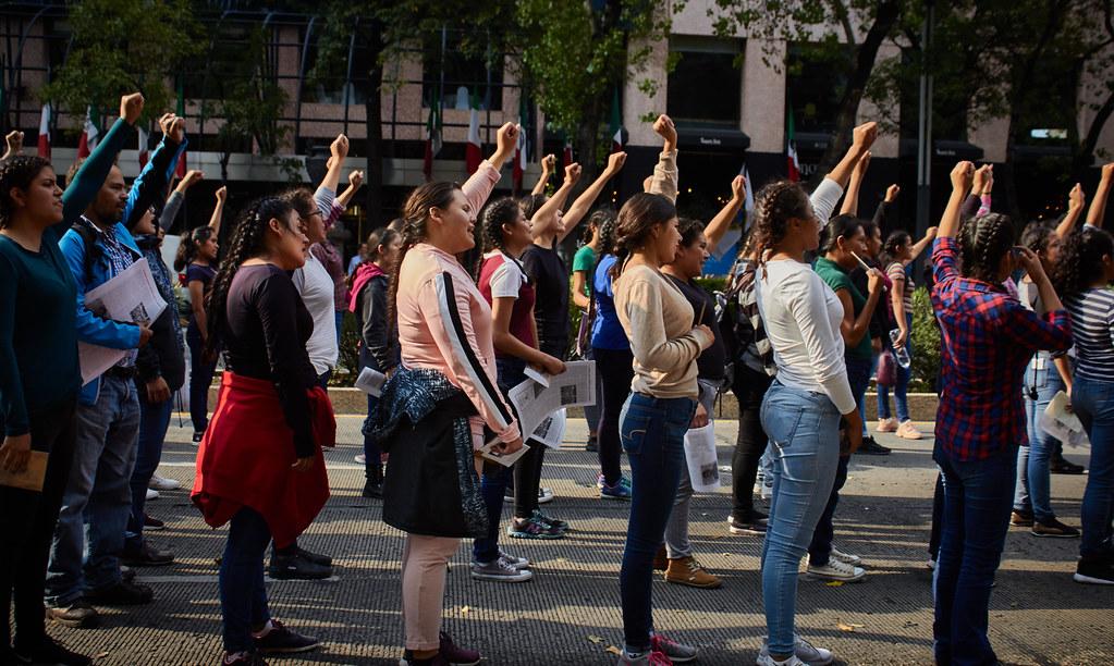 """Manifestación """"Memoria y resistencia"""": Cinco años de los 43 de Ayotzinapa"""