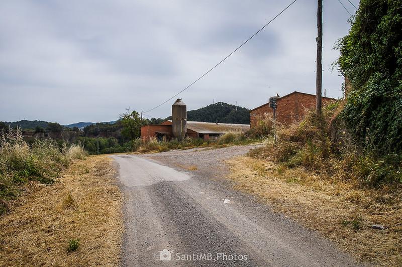 El camino de Conaer a su paso por La Ribera
