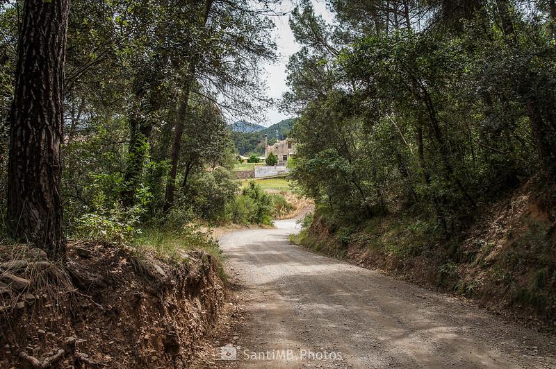 Avistando La Ribera desde el camino de Coaner