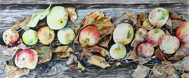 Autumn Finale - watercolour