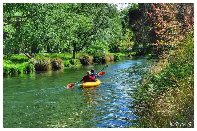 Avon River, Christchurch, New Zealand -23