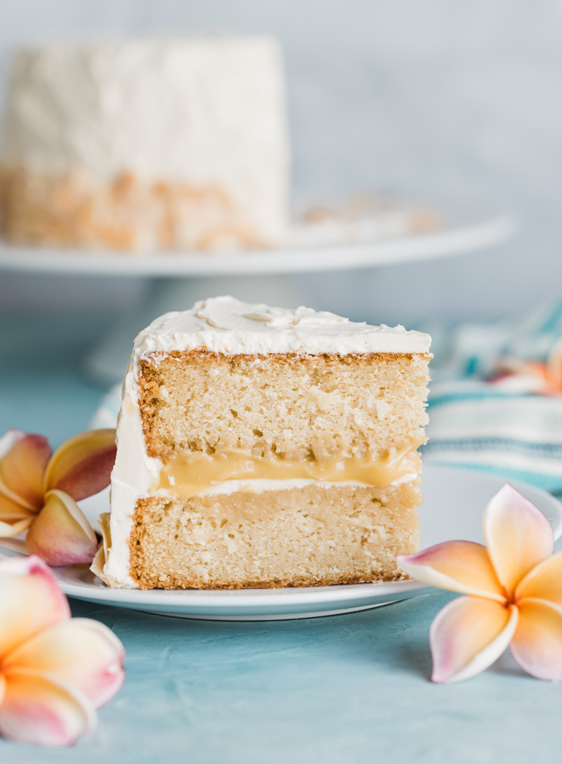 Toasted Coconut Layer Cake www.pineappleandcoconut.com