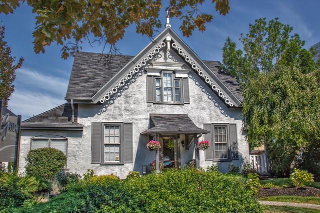 Brantford Ontario - Canada - Small Gothic Cottage Architecture -