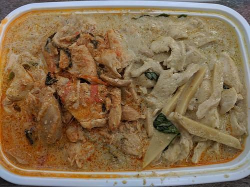 PAI青咖喱+红咖喱鸡肉饭