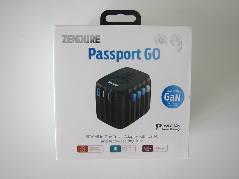 Passport Go - Box Front