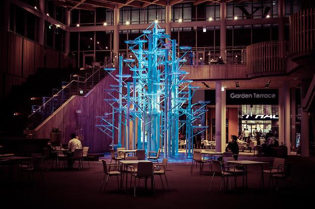 Sculpture in Blue