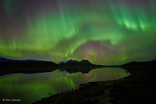 Geomagnetic storm, Hamarøy, Northern Norway