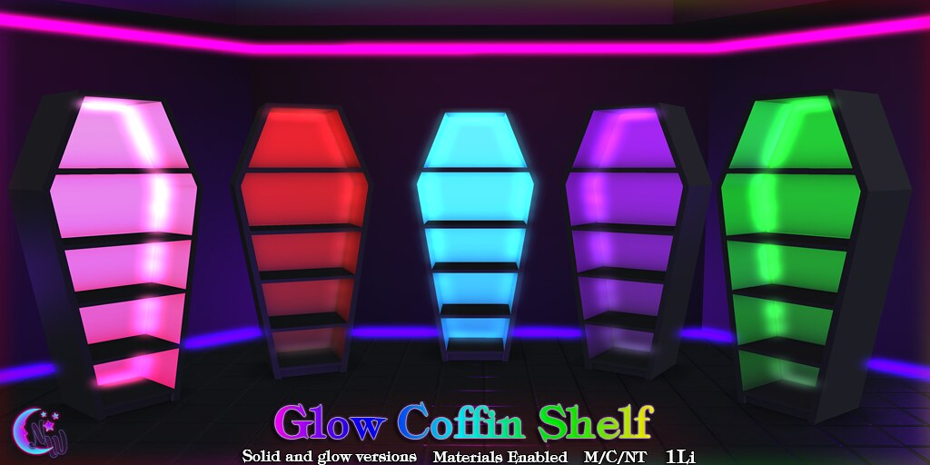 *NW* Glow Coffin Shelf