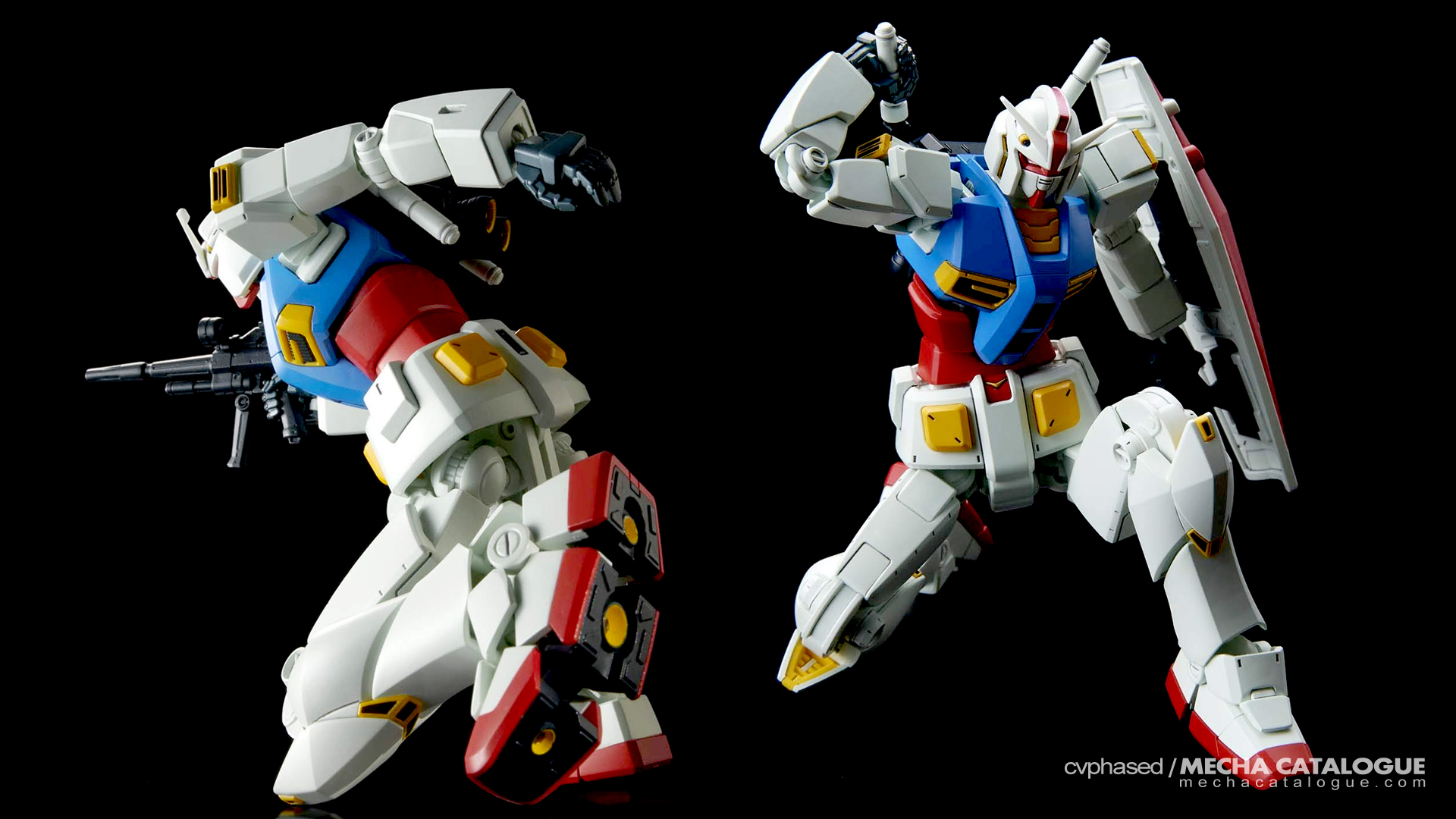 Gunpla 40th Anniversary: HG Gundam G40 (Industrial Design)
