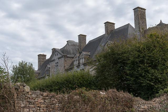 Château de Crosville-sur-Douve (Manche, France)