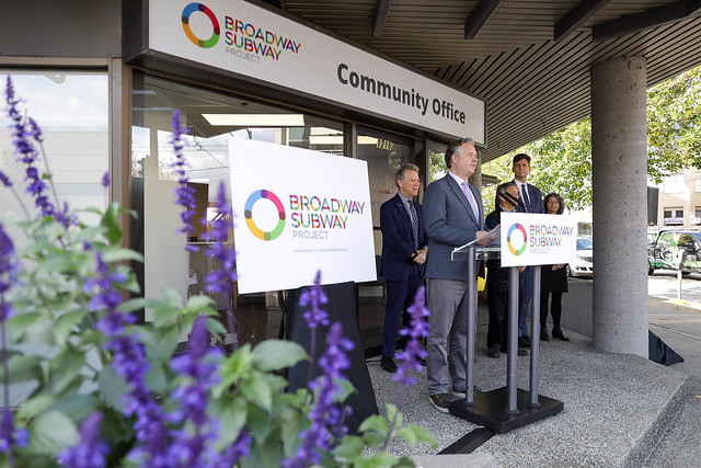 Broadway Subway Project community information office opens
