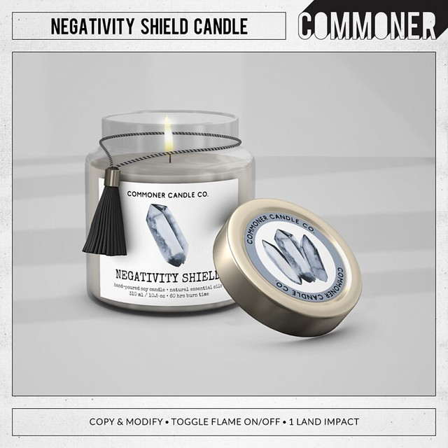 [Commoner] Negativity Shield Candle