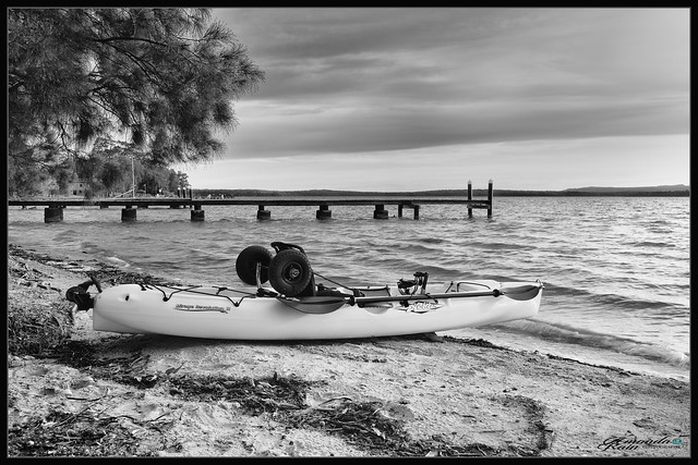 Kayak on the Basin