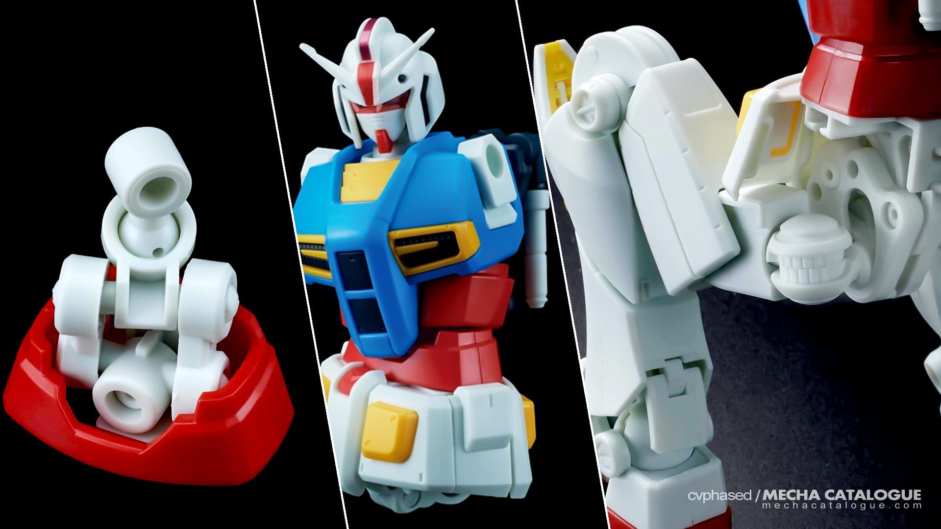 Gunpla 40th Anniversary: HG Gundam G40 (Industrial Design)