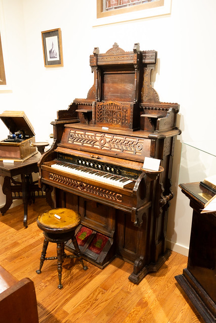 Pump organ purchased in 1903 for $29.50