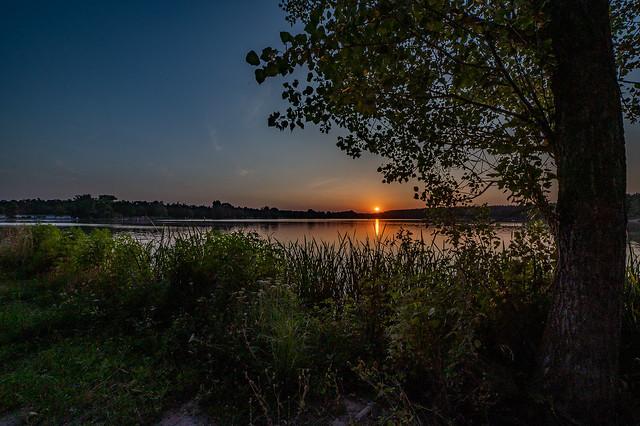 Sonnenuntergang am Dechsendorfer Weiher 2820