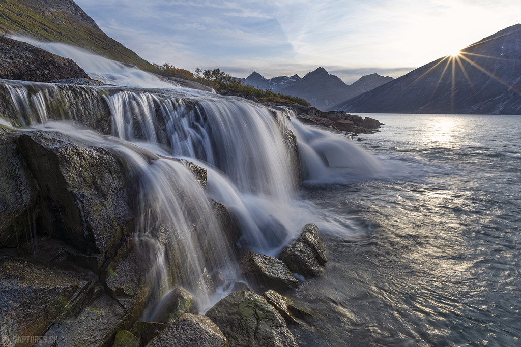Waterfall in Klosterdalen - Tasermiut