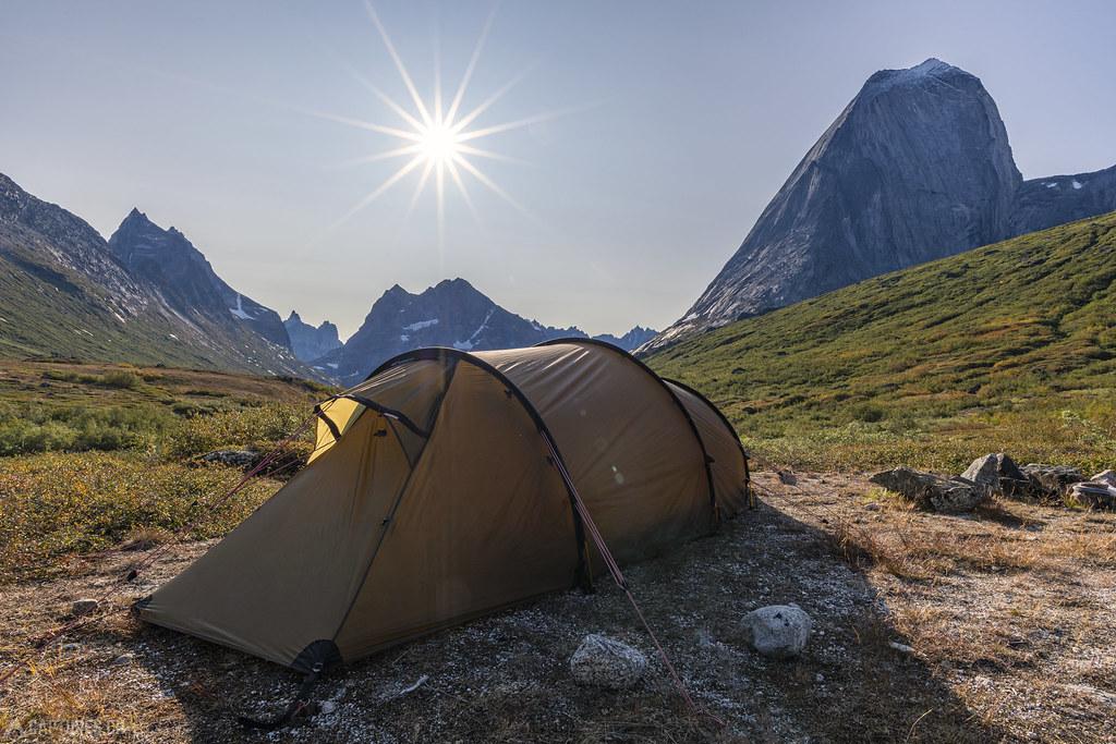 Campsite in Klosterdalen - Tasermiut