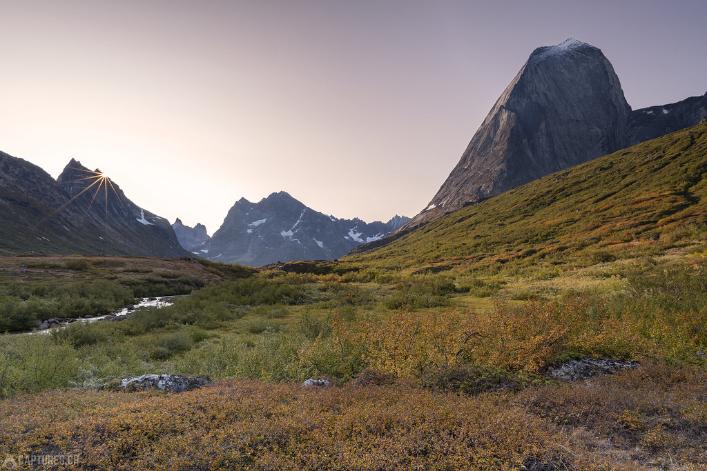 Morning light in Klosterdalen valley - Tasermiut