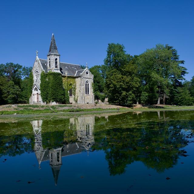Chapelle du château de la Ferté Saint-Aubin
