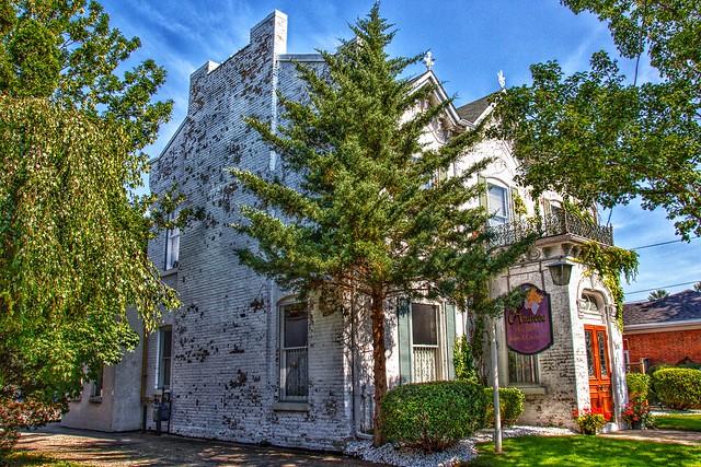 Brantford Ontario - Canada   - Cafe Andreou - Heritage Mansion