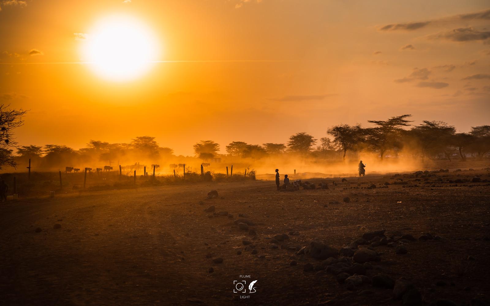 非洲映像│On the way to Amuboseli│Kenya