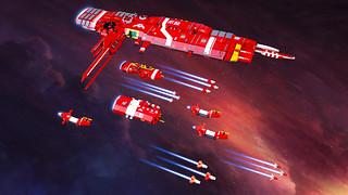 Soban Defense Field Carrier – Aegis with Escort Fleet