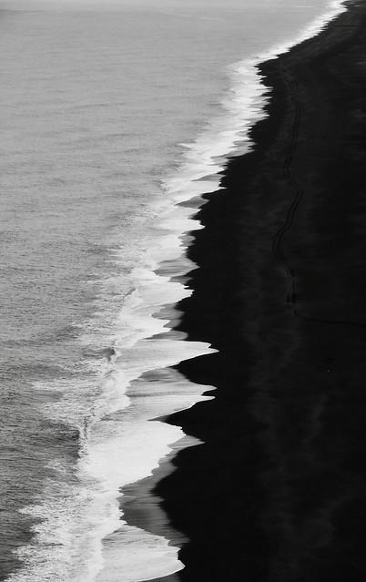 Black Sand Beach - Iceland South Coast