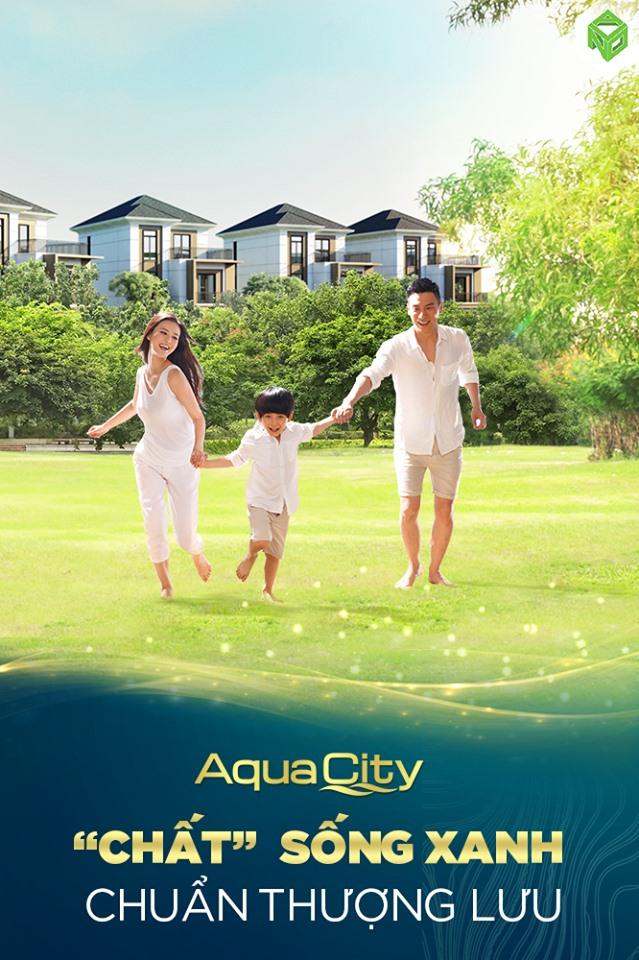 Chất sống xanh thượng lưu tại Aqua City