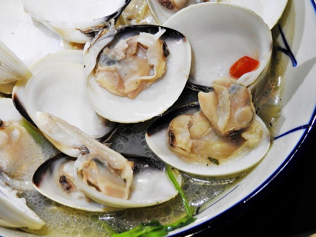 Steamed Clams In Dashi