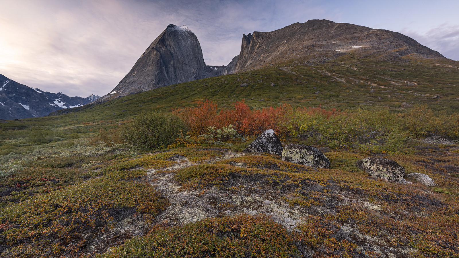 Fall colours in Klosterdalen - Tasermiut
